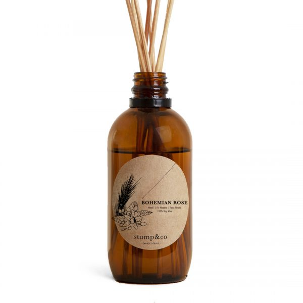 Reed Diffuser | Bohemian Rose Fragrance